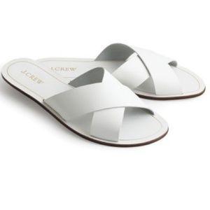Jcrew Cyprus criss cross sandals